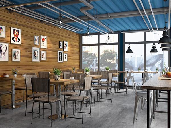 thiết kế nội thất kenarc_phối cảnh coffee 6