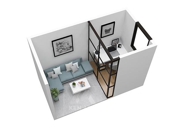 thiết kế kenarc_mặt bằng 3D floor plan